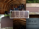 MOVING NEED TO SALE ASAP 10x12 mini barn/shed